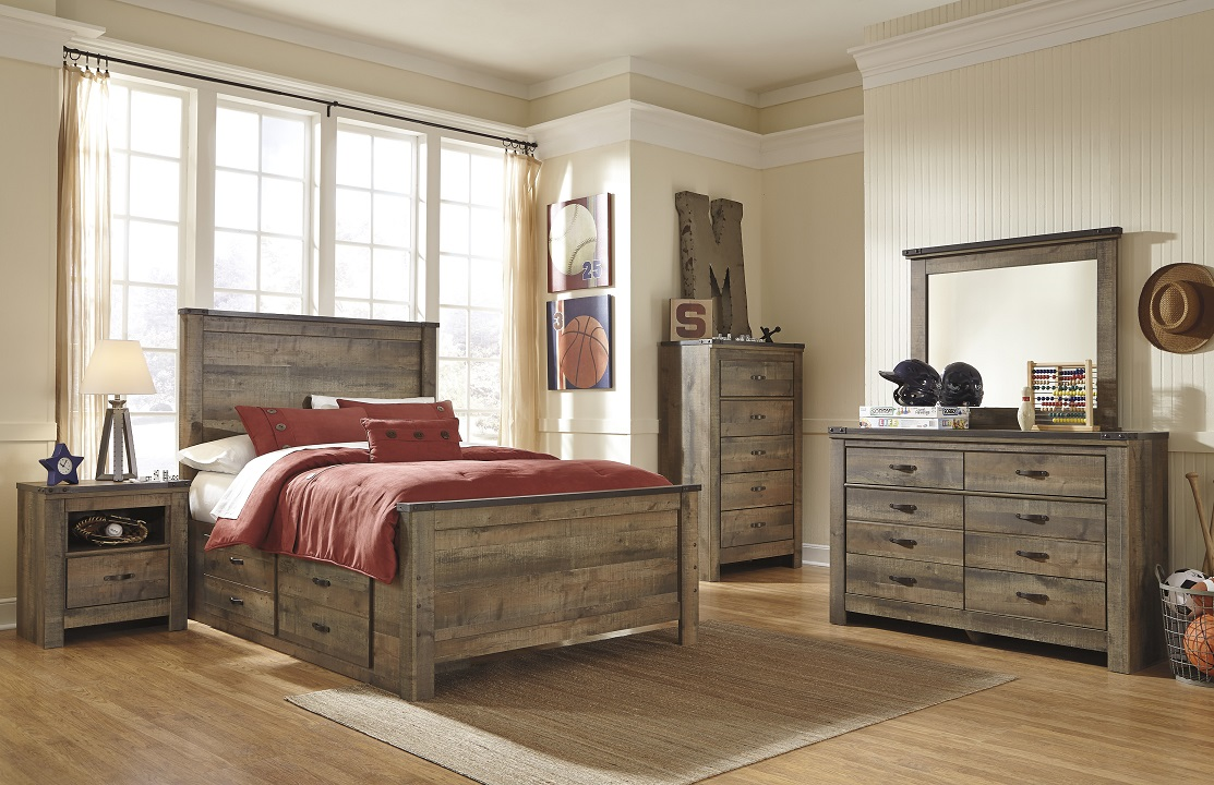 Modest Bedroom Sets With Drawers Under Bed Decoration